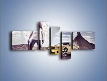 Obraz na płótnie – Chevrolet Camaro – pięcioczęściowy TM079W5