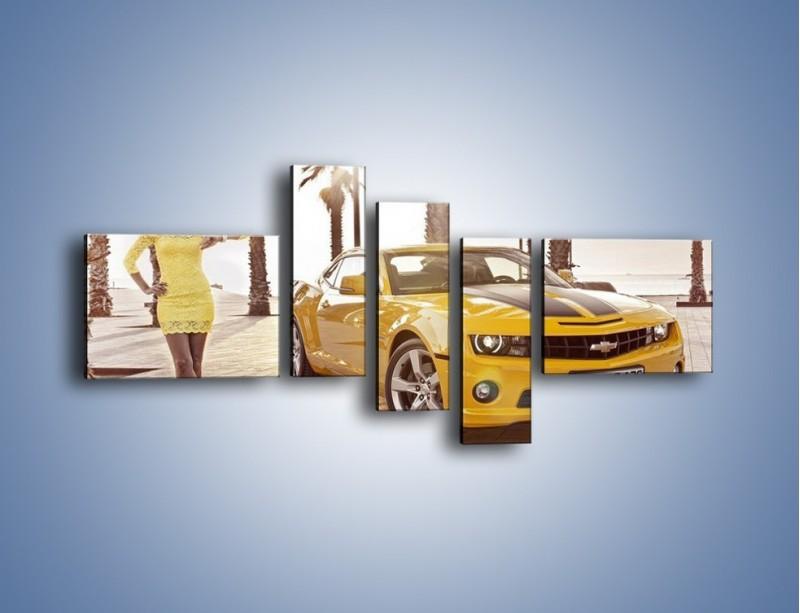Obraz na płótnie – Chevrolet Camaro Coupe Europe – pięcioczęściowy TM083W5