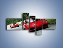 Obraz na płótnie – Ferrari F430 i Ferrari Enzo – pięcioczęściowy TM090W5
