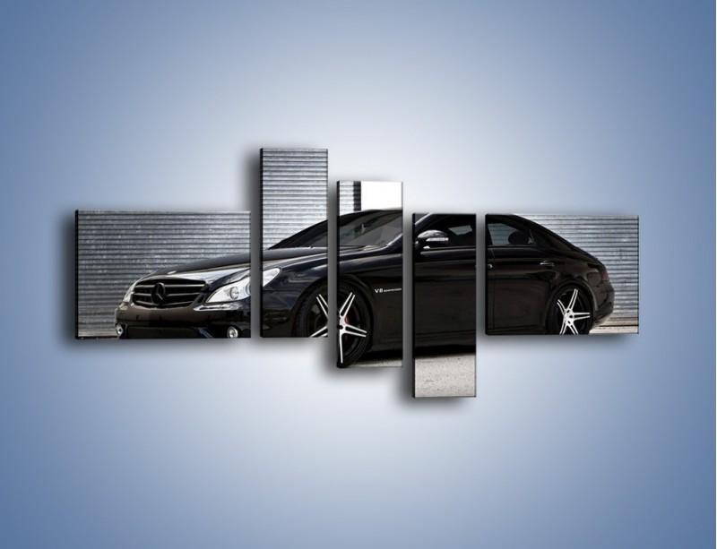 Obraz na płótnie – Mercedes Benz CLS55 AMG – pięcioczęściowy TM091W5