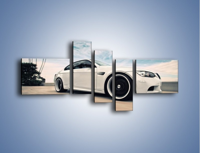 Obraz na płótnie – BMW M3 Strasse Forged Wheels – pięcioczęściowy TM094W5