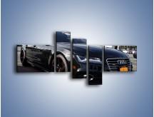 Obraz na płótnie – Audi A7 D2forged Wheels – pięcioczęściowy TM099W5