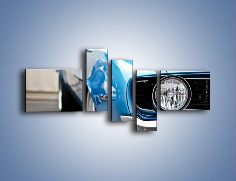 Obraz na płótnie – Ford Mustang Muscle Car – pięcioczęściowy TM101W5