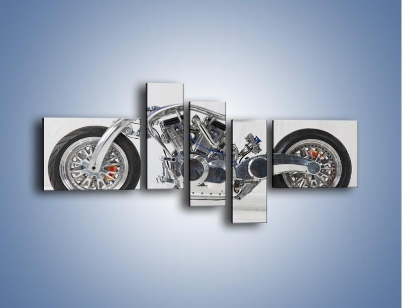 Obraz na płótnie – Niepowtarzalny motocykl – pięcioczęściowy TM228W5