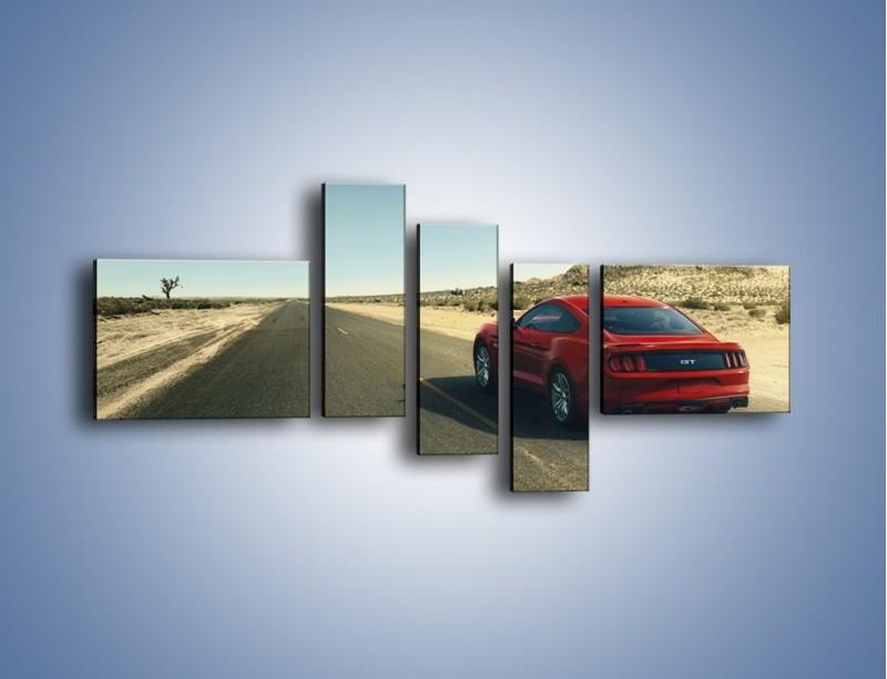 Obraz na płótnie – Ford Mustang GT 2032 – pięcioczęściowy TM229W5
