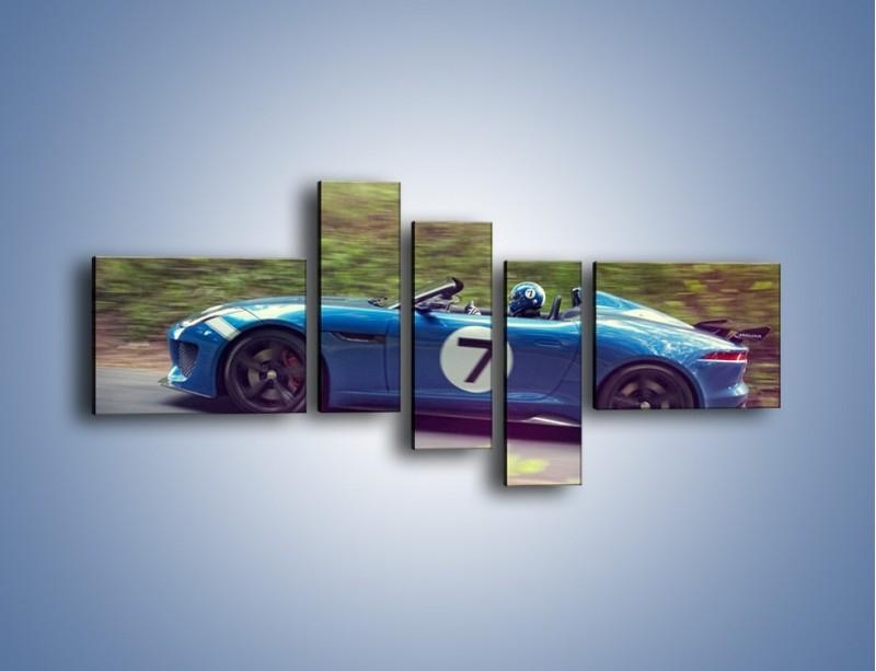Obraz na płótnie – Jaguar Project 7 – pięcioczęściowy TM233W5