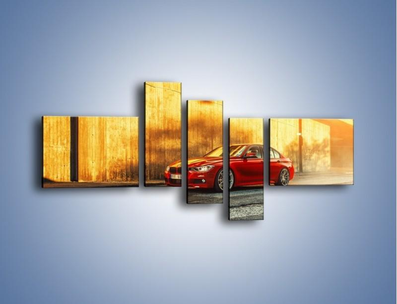 Obraz na płótnie – BMW 3 F48 – pięcioczęściowy TM235W5