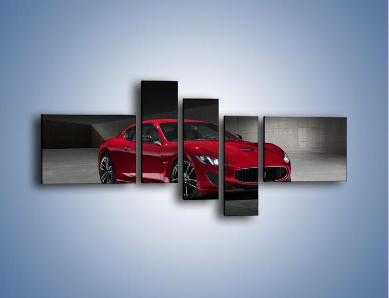 Obraz na płótnie – Maserati GranTurismo Centennial Edition – pięcioczęściowy TM240W5