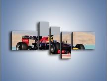 Obraz na płótnie – F1 Infiniti Red Bull – pięcioczęściowy TM241W5