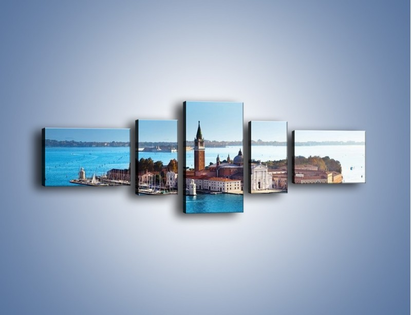 Obraz na płótnie – Wyspa San Giorgio Maggiore – pięcioczęściowy AM380W6