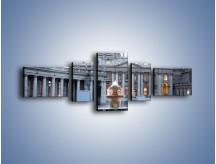 Obraz na płótnie – Bazylika św. Piotra w Watykanie – pięcioczęściowy AM722W6