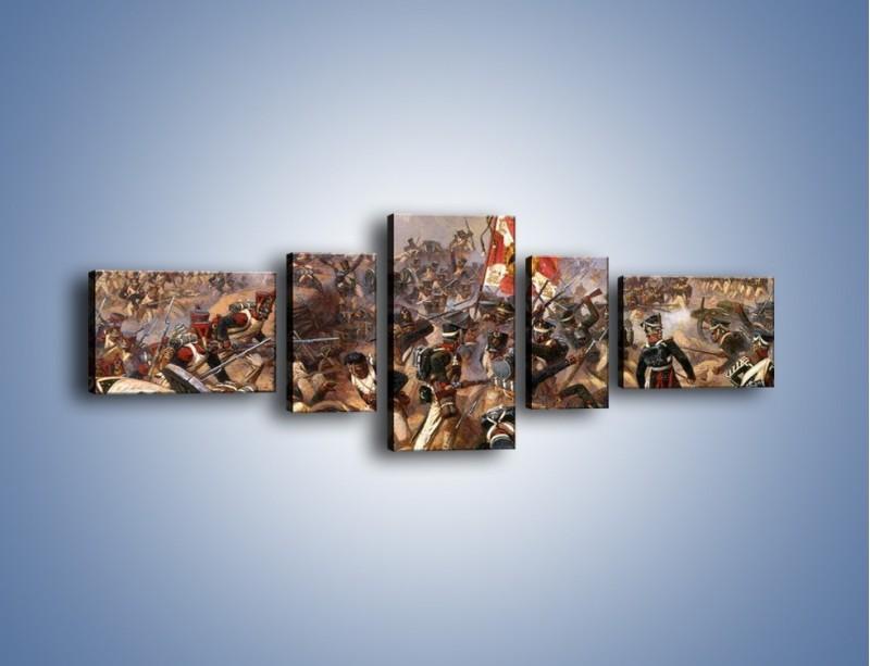 Obraz na płótnie – Wojna i jej skutki – pięcioczęściowy GR133W6