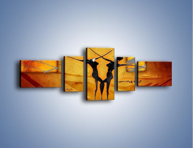 Obraz na płótnie – Dotyk w tańcu – pięcioczęściowy GR633W6