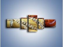 Obraz na płótnie – Chleb pszenno-kukurydziany – pięcioczęściowy JN090W6