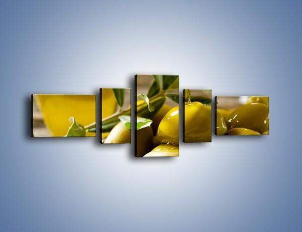 Obraz na płótnie – Oliwa z oliwek – pięcioczęściowy JN195W6