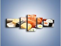 Obraz na płótnie – Azjatyckie posiłki – pięcioczęściowy JN355W6