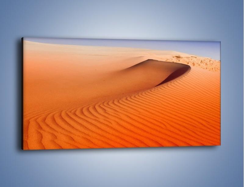 Obraz na płótnie – Pustynny żar – jednoczęściowy panoramiczny KN305