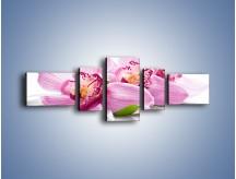 Obraz na płótnie – Biały kwiatowy stół – pięcioczęściowy K688W6
