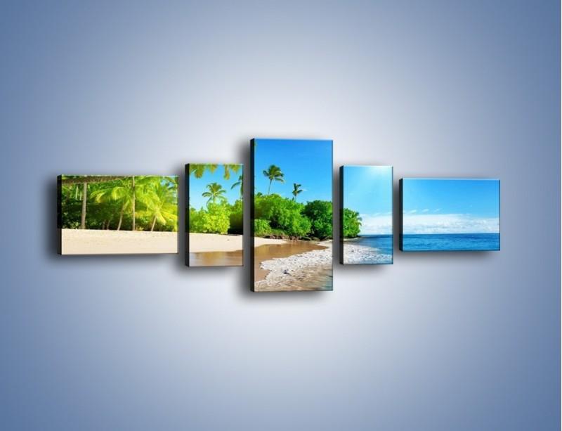 Obraz na płótnie – Bajeczne wakacyjne wspomnienia – pięcioczęściowy KN1110AW6
