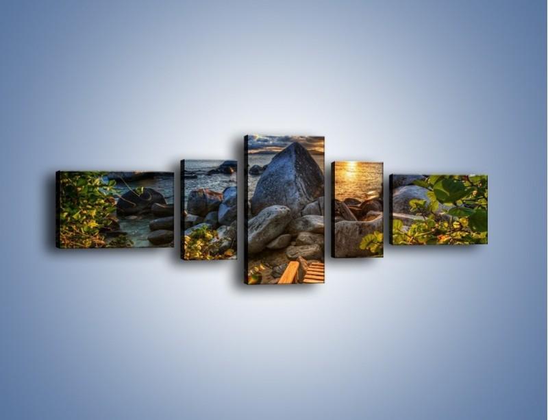 Obraz na płótnie – Droga bez wylotu – pięcioczęściowy KN815W6