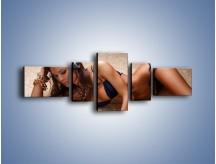Obraz na płótnie – Kobiece ciało w ujęciu aparatu – pięcioczęściowy L138W6
