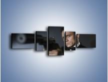 Obraz na płótnie – Bond. james bond – pięcioczęściowy L239W6
