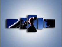 Obraz na płótnie – Koncert na saksofonie – pięcioczęściowy O110W6