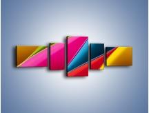 Obraz na płótnie – Idealna kolorowa kompozycja – pięcioczęściowy O219W6