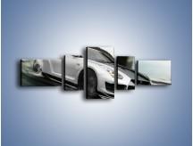 Obraz na płótnie – Driftujący Nissan GTR – pięcioczęściowy TM007W6