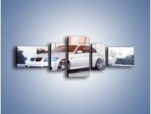 Obraz na płótnie – BMW 3 E90 – pięcioczęściowy TM112W6