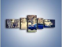 Obraz na płótnie – BMW M3 Coupe E111 – pięcioczęściowy TM114W6