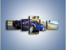 Obraz na płótnie – Bugatti Veyron – pięcioczęściowy TM123W6
