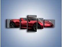 Obraz na płótnie – Alfa Romeo 4C Coupe – pięcioczęściowy TM140W6