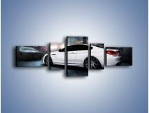 Obraz na płótnie – BMW M6 F13 w garażu – pięcioczęściowy TM165W6