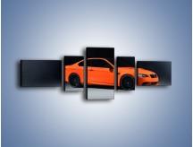 Obraz na płótnie – BMW M3 E92 Coupe Orange – pięcioczęściowy TM168W6