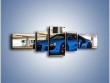 Obraz na płótnie – Audi R8 – pięcioczęściowy TM180W6