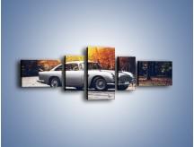 Obraz na płótnie – Aston Martin DB5 – pięcioczęściowy TM208W6