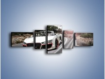 Obraz na płótnie – Audi R8 V10 Spyder – pięcioczęściowy TM209W6