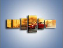Obraz na płótnie – BMW 3 F49 – pięcioczęściowy TM235W6