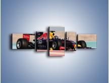 Obraz na płótnie – F1 Infiniti Red Bull – pięcioczęściowy TM241W6