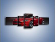 Obraz na płótnie – Aston Martin DBS Carbon Edition – pięcioczęściowy TM242W6