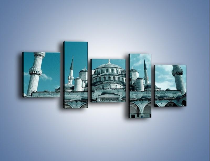 Obraz na płótnie – Taj Mahal – pięcioczęściowy AM175W7