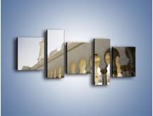 Obraz na płótnie – Bliskowschodnia architektura – pięcioczęściowy AM177W7