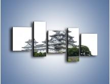 Obraz na płótnie – Azjatycka architektura – pięcioczęściowy AM181W7