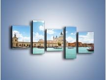 Obraz na płótnie – Canal Grande w Wenecji – pięcioczęściowy AM449W7