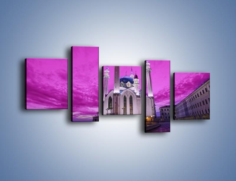 Obraz na płótnie – Meczet Kul Szarif – pięcioczęściowy AM642W7