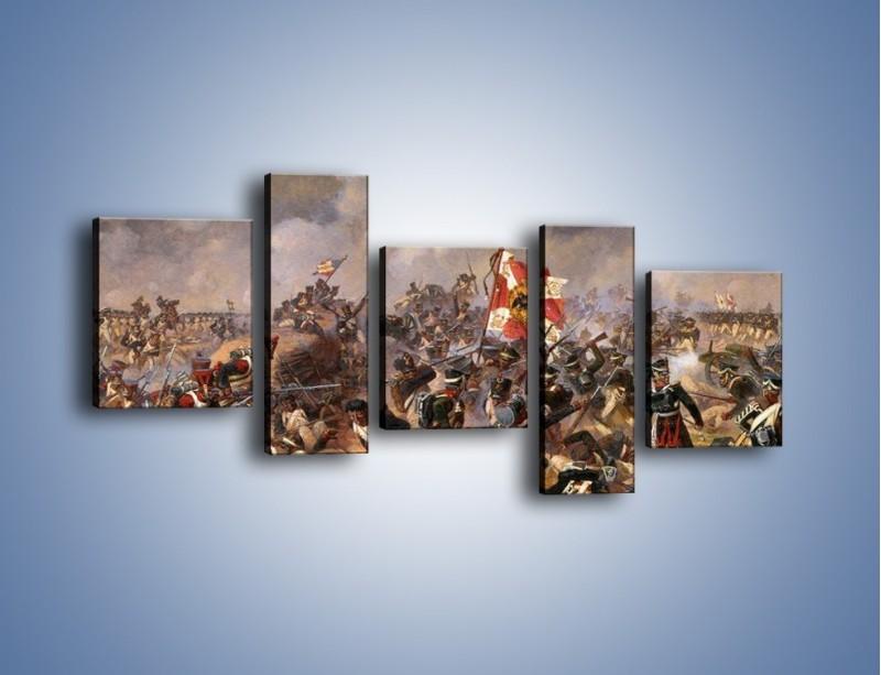 Obraz na płótnie – Wojna i jej skutki – pięcioczęściowy GR133W7