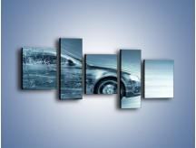 Obraz na płótnie – Auto z prędkością światła – pięcioczęściowy GR264W7