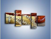 Obraz na płótnie – Chleb pszenno-kukurydziany – pięcioczęściowy JN090W7