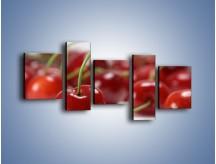 Obraz na płótnie – Czereśnia rządzi w kuchni – pięcioczęściowy JN223W7